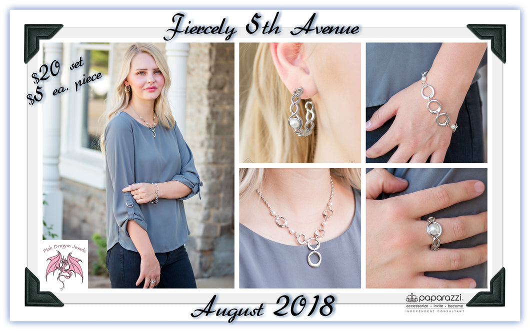 August 2018 Fashion Fix: Fiercely 5th Avenue - Complete Trend Blend - Pink Dragon Jewels