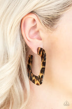 Load image into Gallery viewer, Cheetah Incognita - Brown Paparazzi Earring - Pink Dragon Jewels