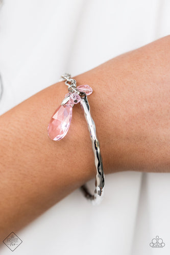 Let Yourself GLOW - Pink Paparazzi Bracelet - Pink Dragon Jewels