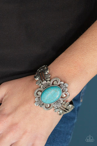 Mojave Mystic - Blue Paparazzi Bracelet: June 2020 Life of the Party - Pink Dragon Jewels