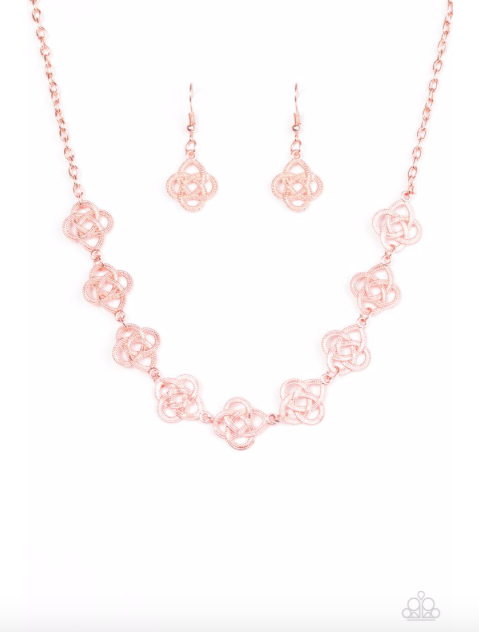 Cunning Cleopatra - Rose Gold - Pink Dragon Jewels