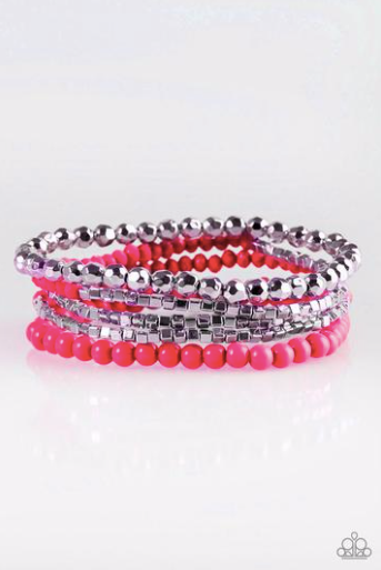Colorfully Chromatic - Pink - Pink Dragon Jewels