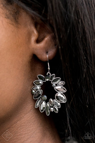 Try as I DYNAMITE - Silver Paparazzi Earring - Pink Dragon Jewels