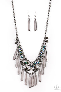Uptown Urban - Multi Paparazzi Necklace: May 2020 Life of the Party - Pink Dragon Jewels