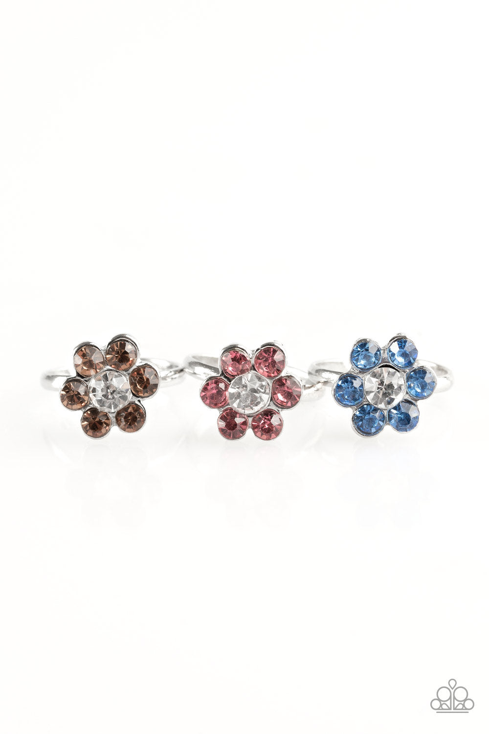 Gemstone Flower Rings - Paparazzi Starlet Shimmer - Pink Dragon Jewels
