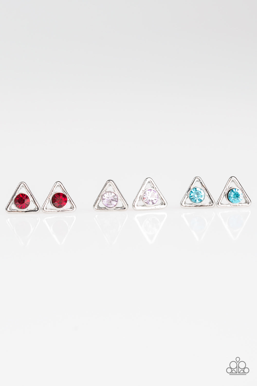 Triangle Gems - Paparazzi Starlet Shimmer - Pink Dragon Jewels