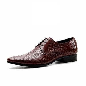 Men lace up dress oxford shoes