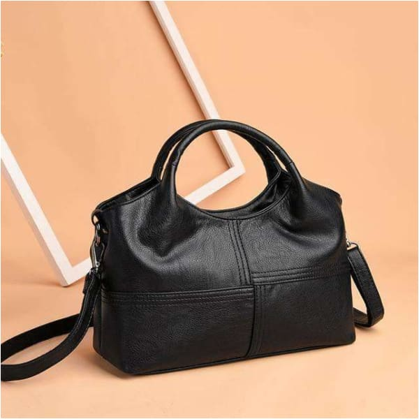 Genuine Leather handbags for womens Patchwork