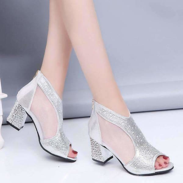 Fashion womens bling sandals
