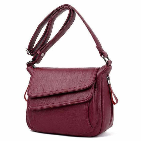Sheepskin leather women handbags