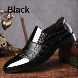 Fashion men's business casual oxford shoes