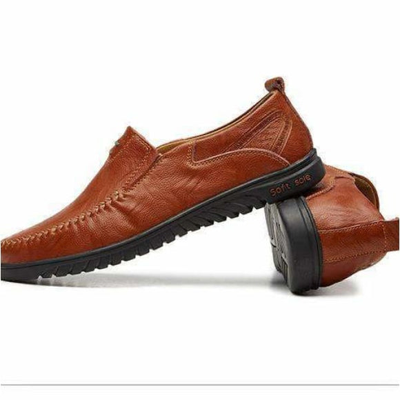 Men driving shoes moccasins