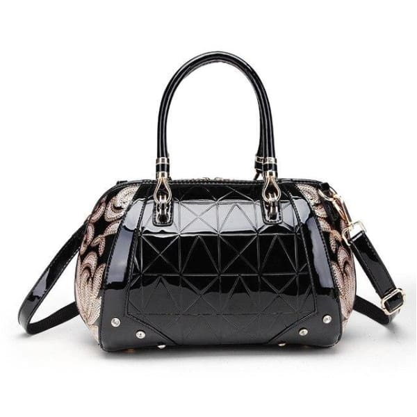 Luxury women's leather shoulder designer  bags