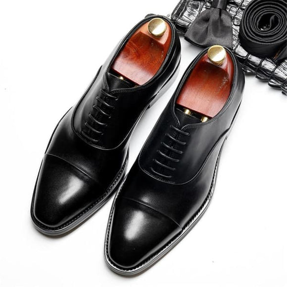 Oxford mens dress shoes - men shoes