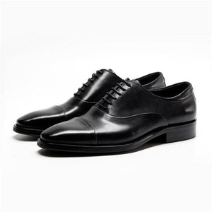 Oxford mens dress shoes - black / 6.5 - men shoes