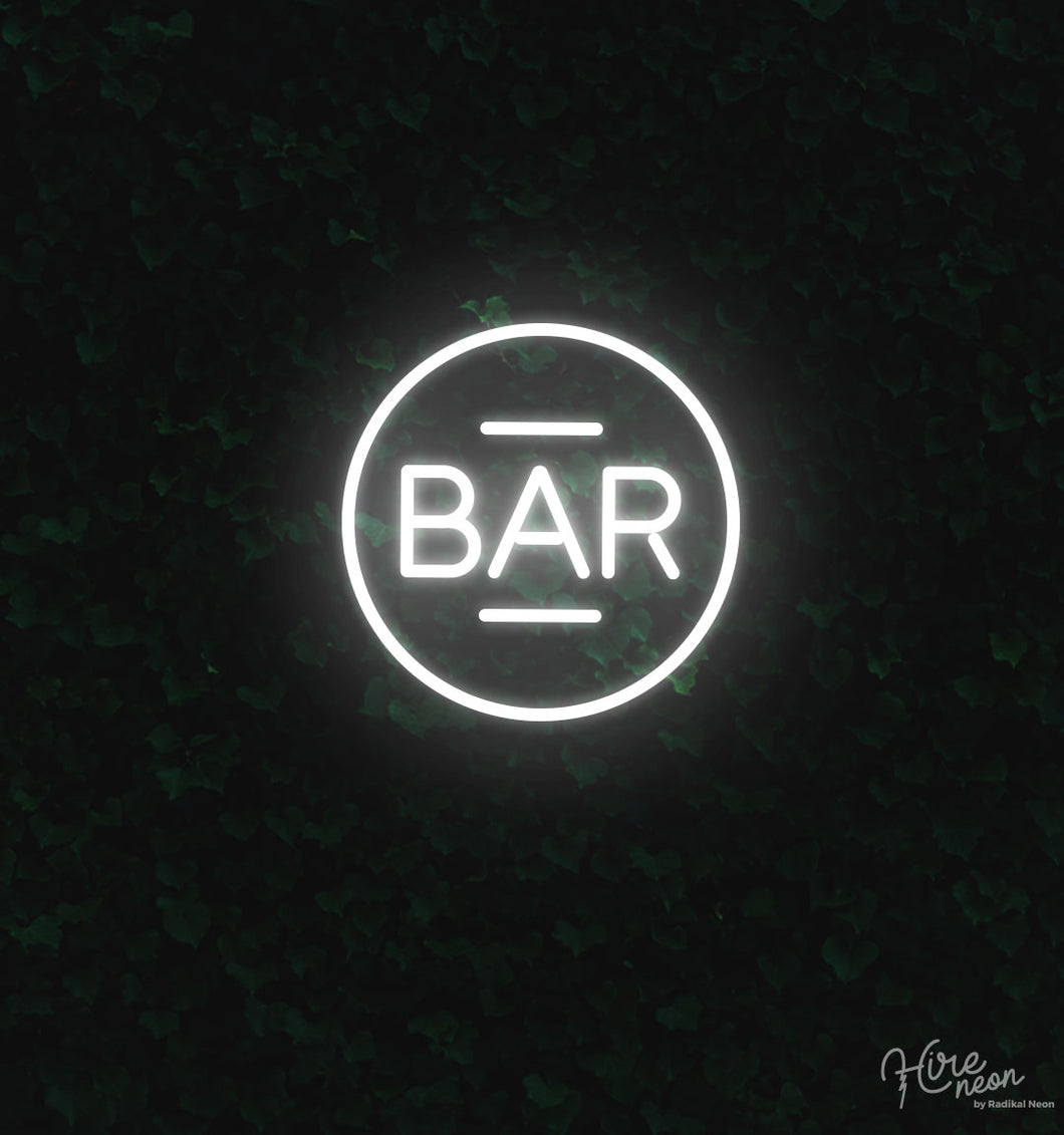 To the bar! - Freestanding | Hire Neon Signs NZ