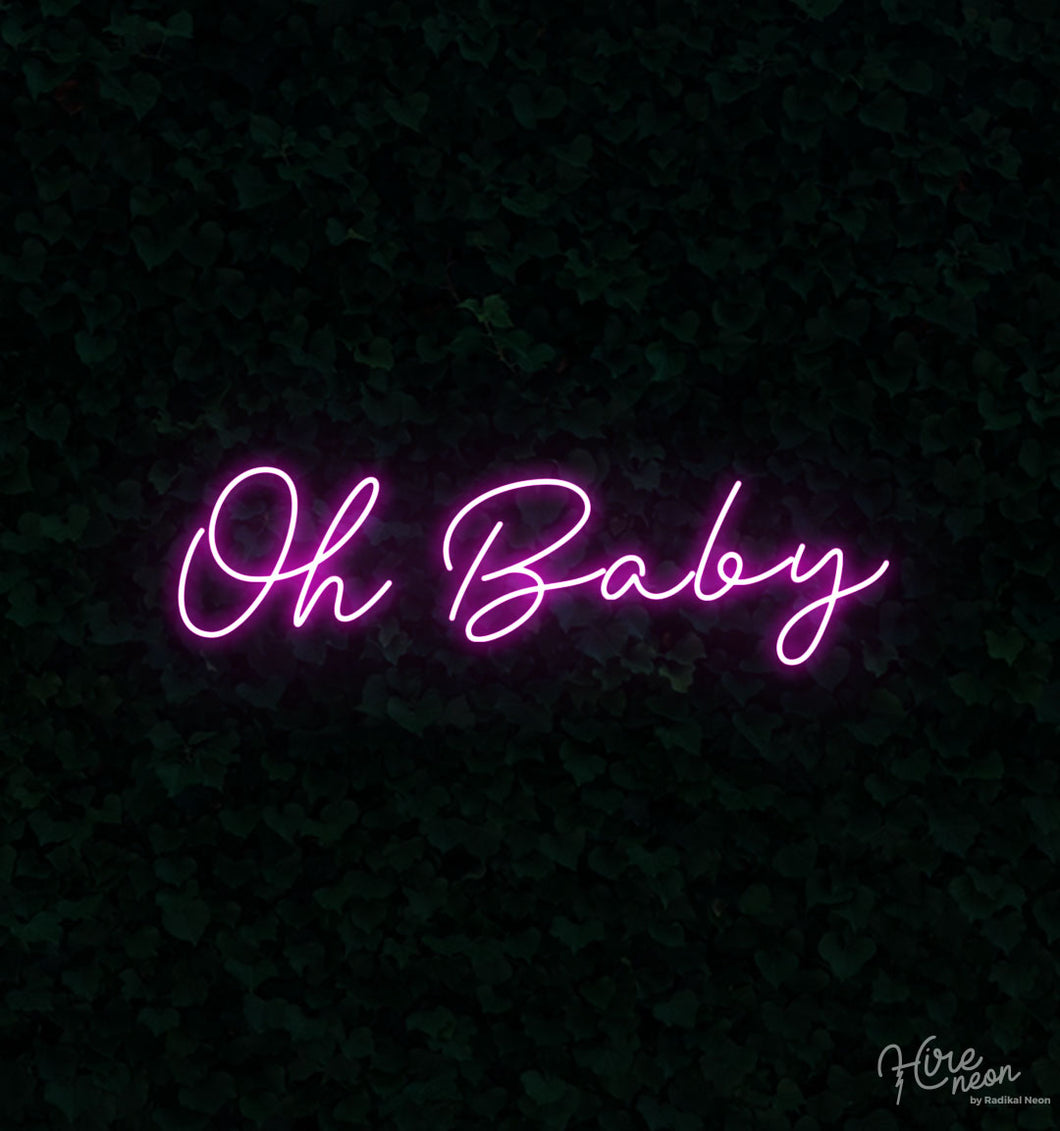 Oh Baby - Gender Reveal - Pink