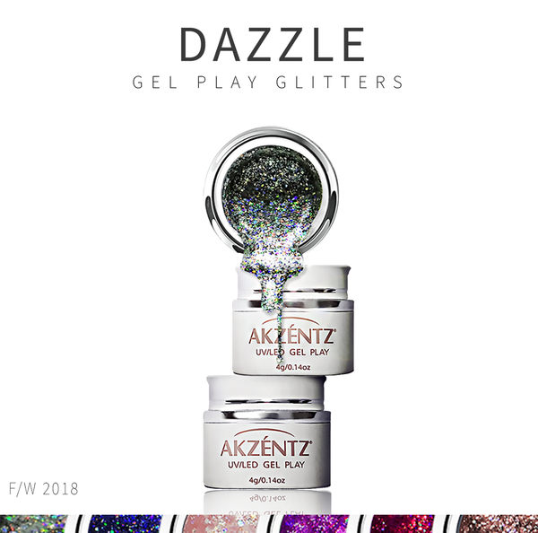 Dazzle Gel Play Glitters *NEW*