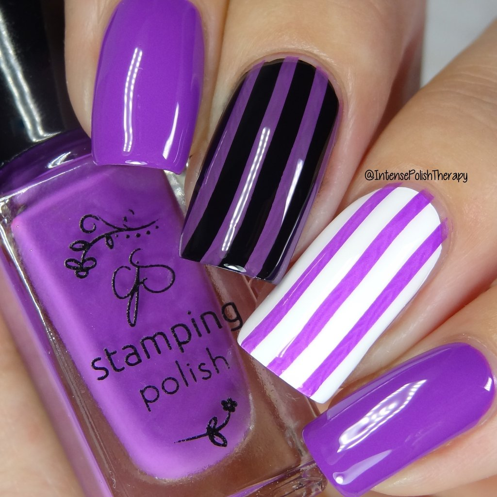 #18 I Brought Beverages Stamping Polish