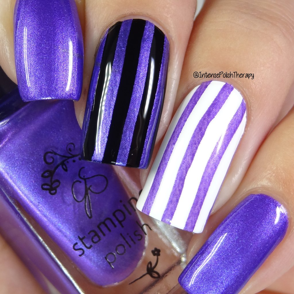 #30 Plum Crazy Stamping Polish