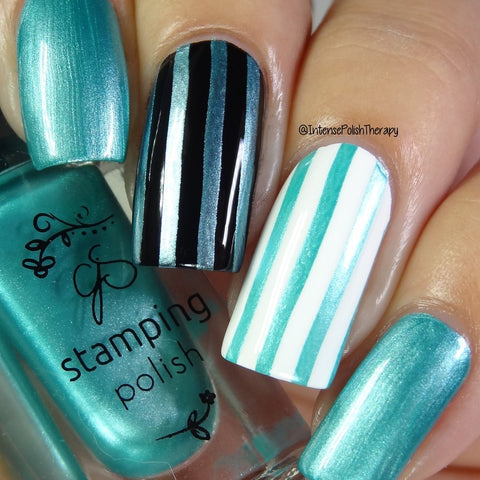 #37 Caribbean Dream Stamping Polish