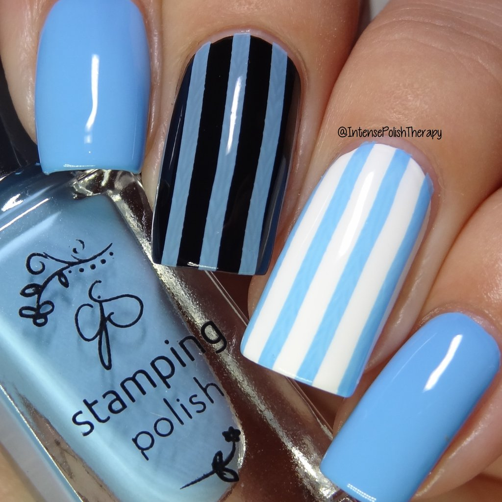 #73 Blue Bell Stamping Polish