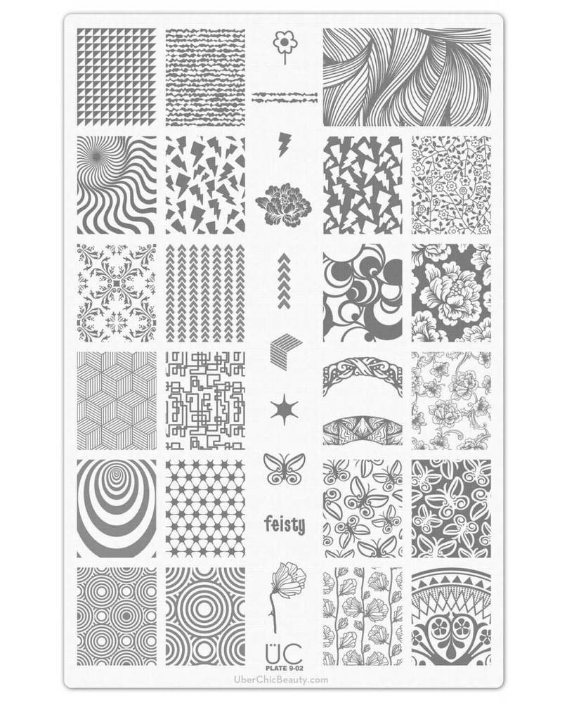Collection 9 - Uber Chic Stamping Plates