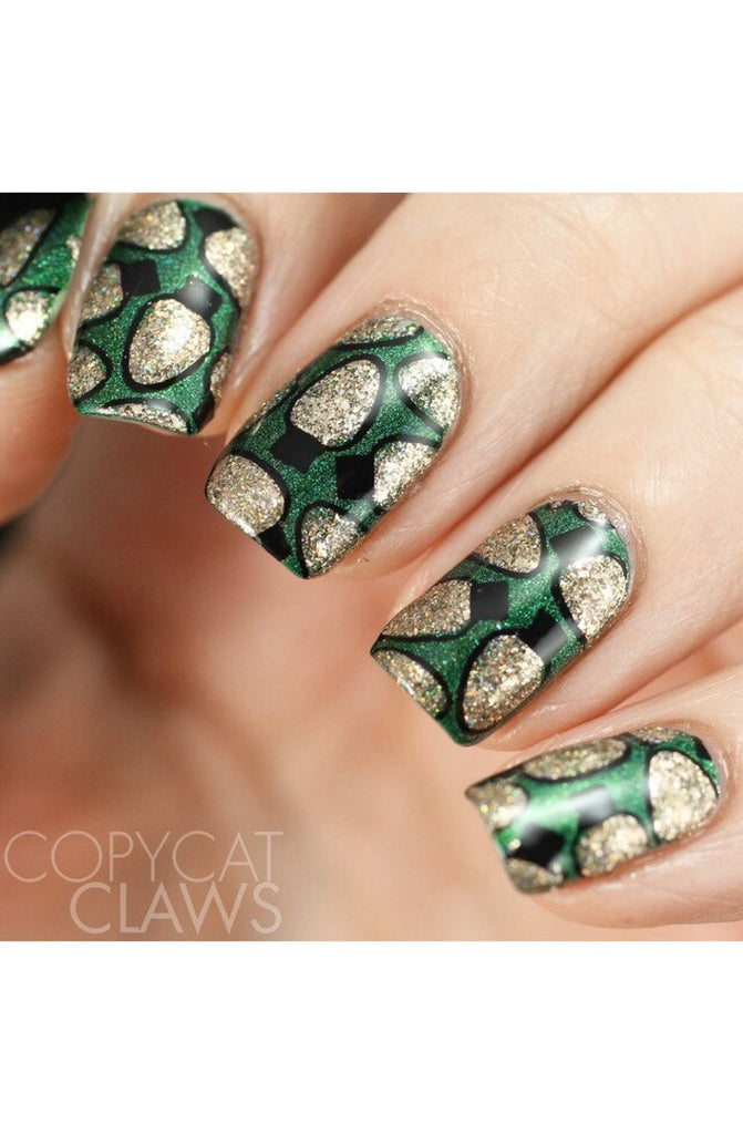 Holly Jolly / Christmas 02 - Uber Chic Stamping Plates