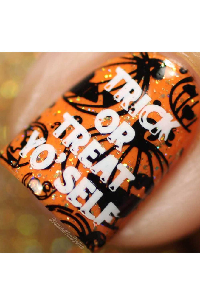 Halloween 3 - Uber Chic Stamping Plate