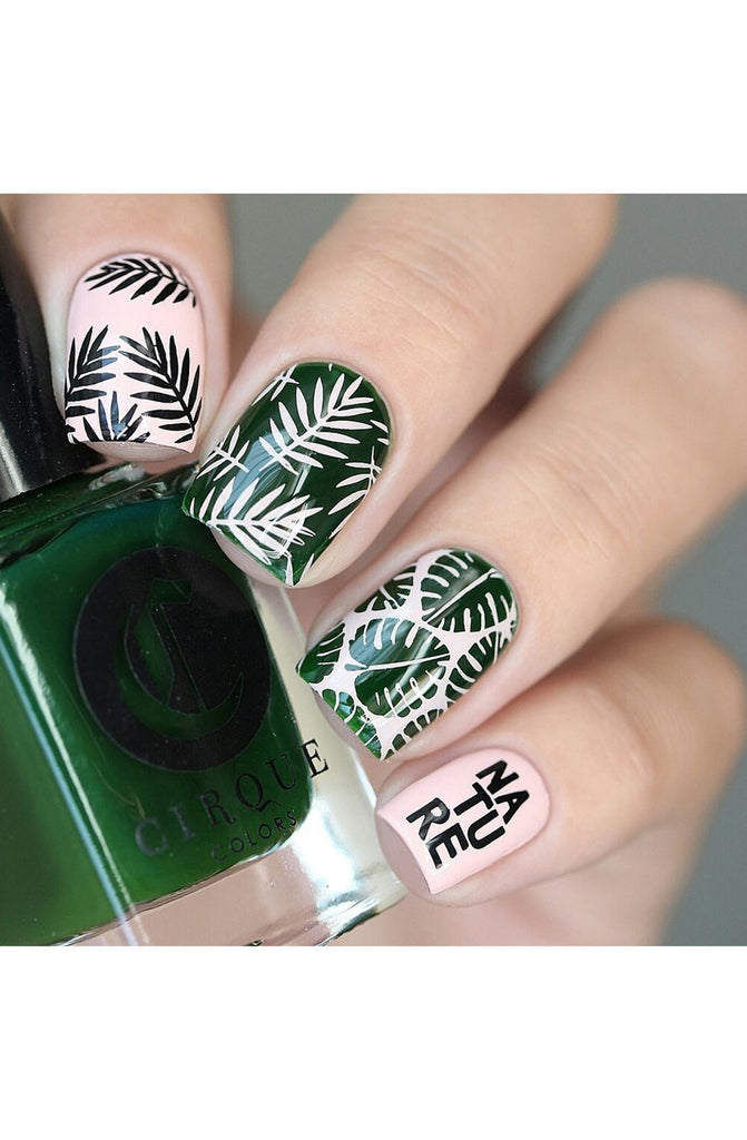 Lovely Leaves 2 - Uber Chic Stamping Plate