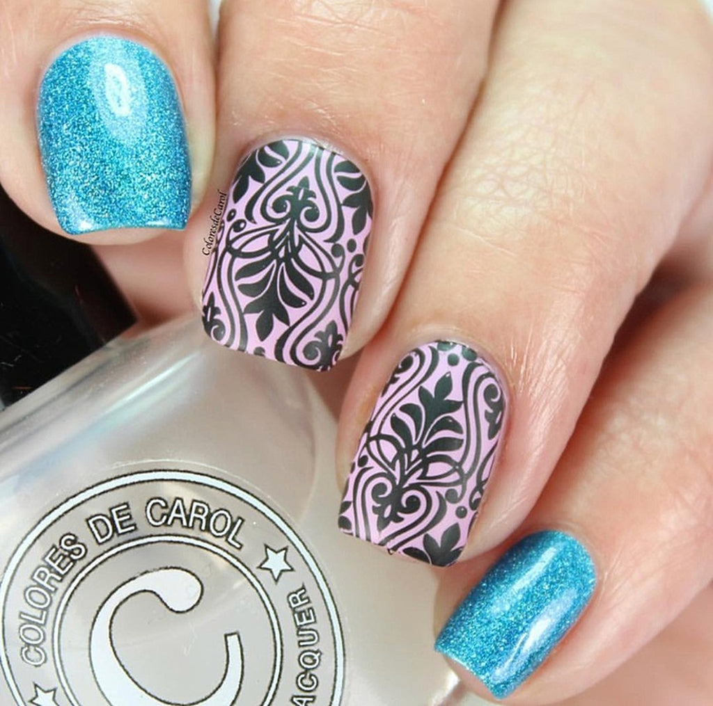 Art Deco Elegance - Uber Chic Stamping Plates