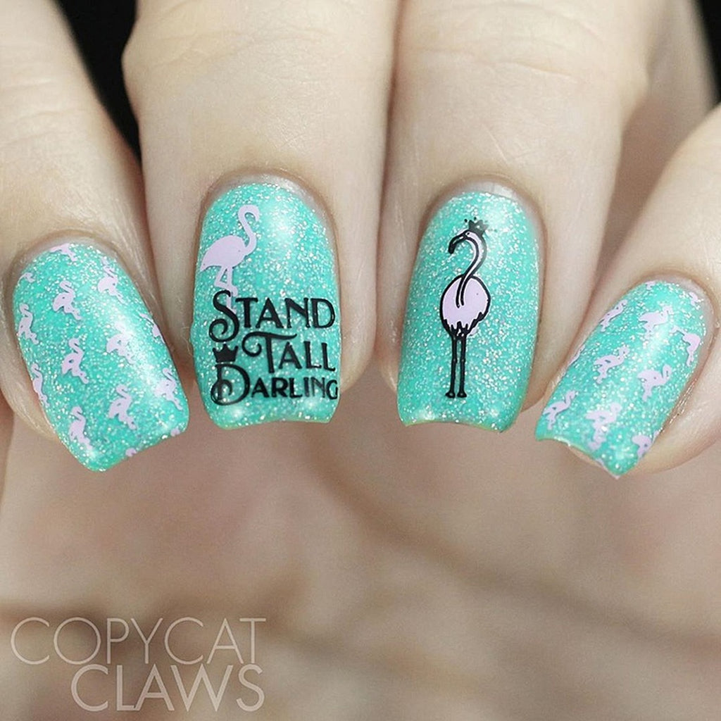 Beach Please - Uber Chic Stamping Plates