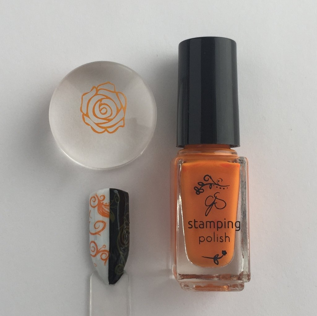 #22 Clementine Stamping Polish