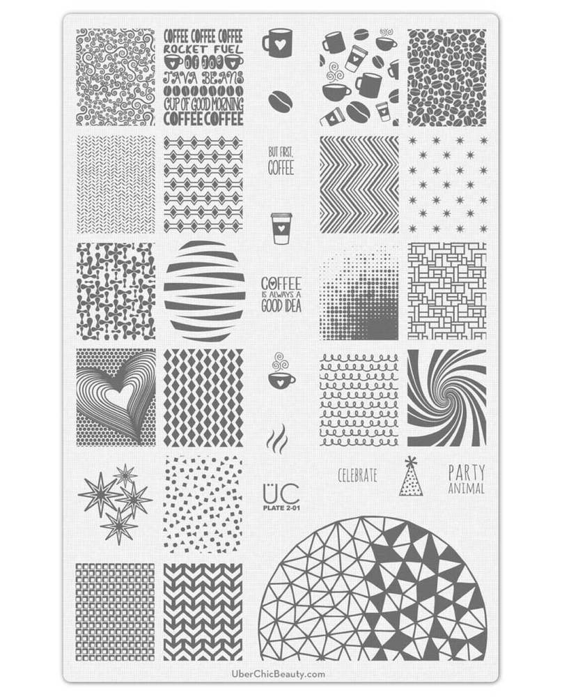 Collection 2 - Uber Chic Stamping Plates