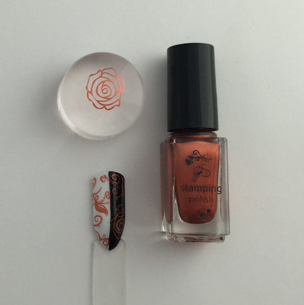 #28 Pretty Penny Stamping Polish