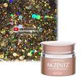 Aurora Gold Glitter -  Akzentz Options UV/LED - LuvNailz