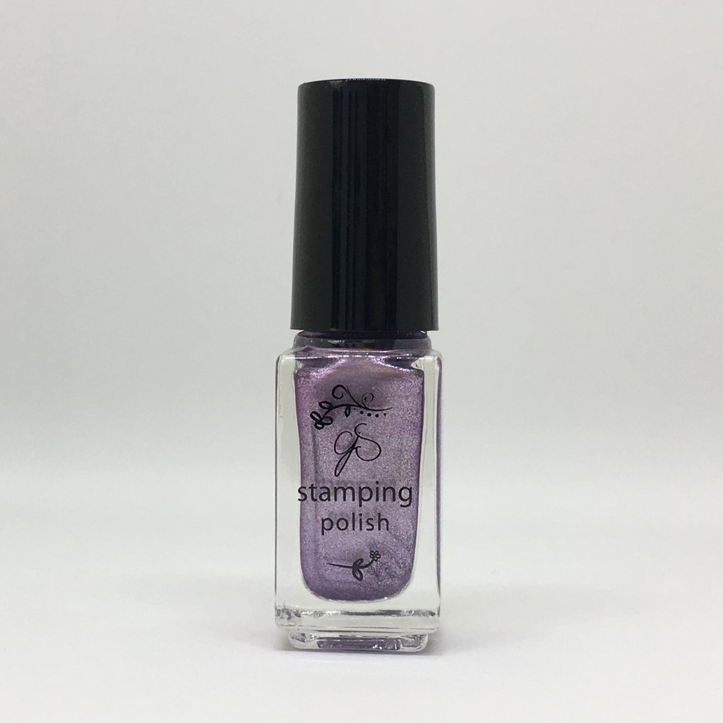 #35 Paulas Pixie Purple Stamping Polish