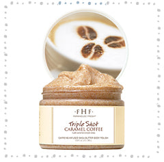 Triple Shot Caramel Coffee Body Scrub - Farmhouse Fresh