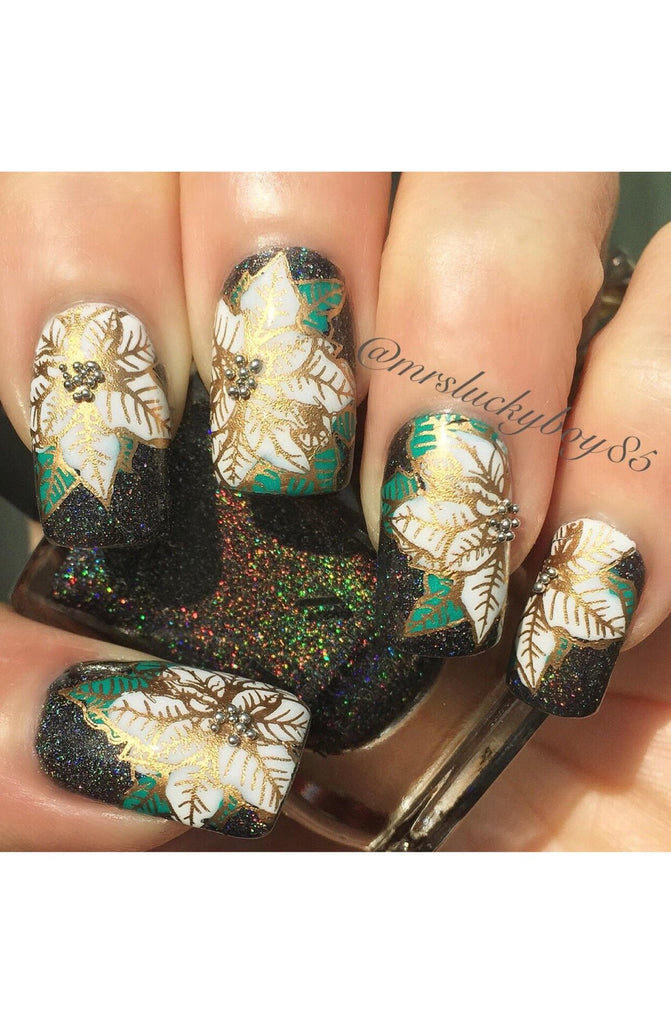 Holiday Spirit / Christmas 1 -Uber Chic Stamping Plates