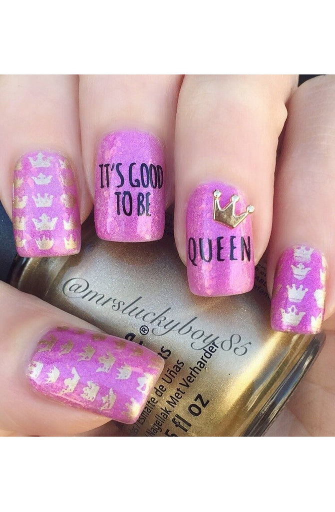 Fairytale 1 - Uber Chic Stamping Plates