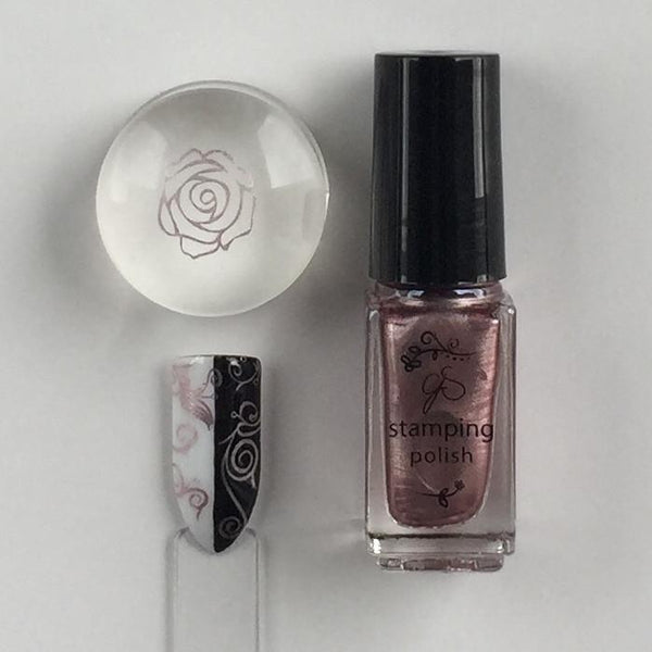 #41 Sweet Baby Rose Stamping Polish