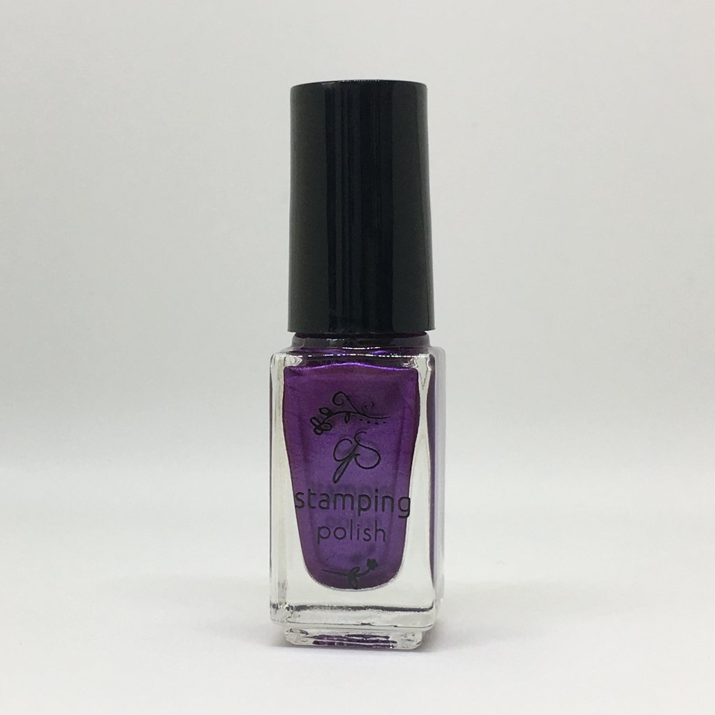 #48 Sparkling Grape Stamping Polish
