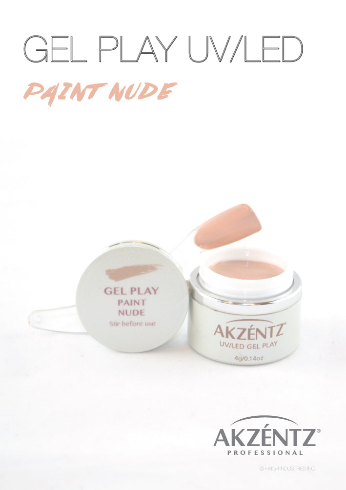 Paint Nude  - Akzentz Gel Play UV/LED