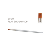 Flat Gel Brush #106