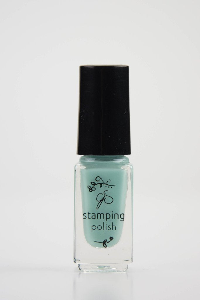 #69 April Showers Stamping Polish