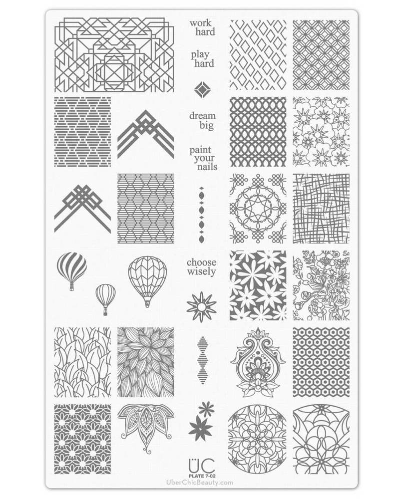 Collection 7 - Uber Chic Stamping Plates