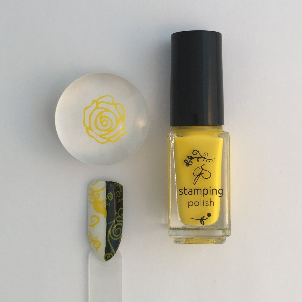 #8 You are my Sunshine Stamping Polish