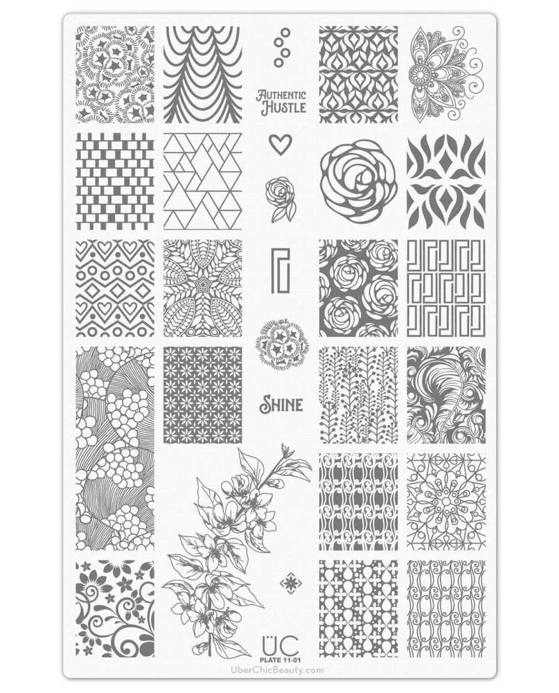Collection 11 - Uber Chic Stamping Plates