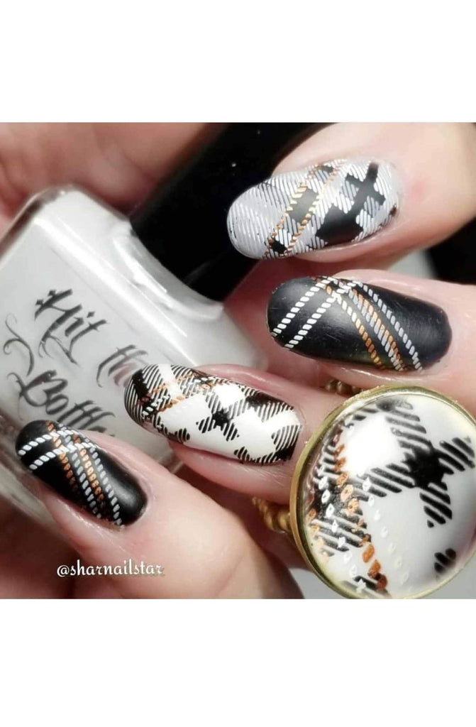 Pretty In Plaid 2 - Uber Chic Stamping Plates