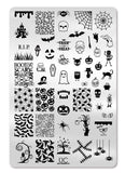 Halloween 1 - Uber Chic Stamping Plates